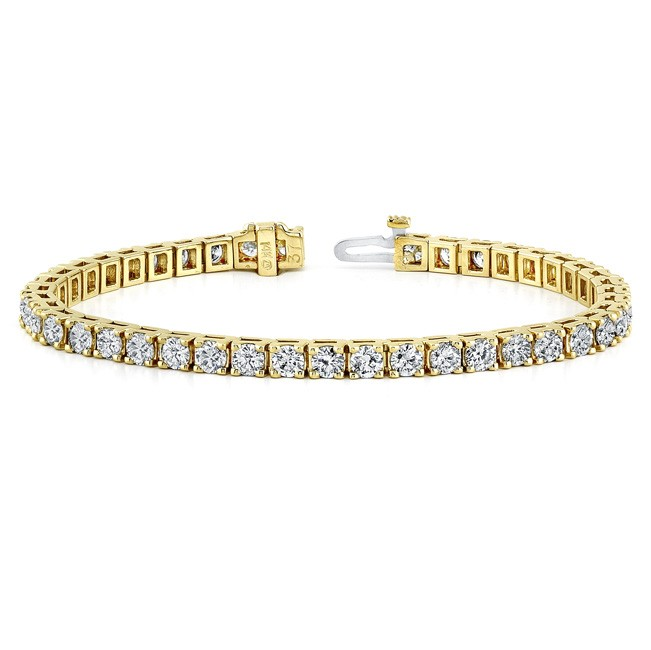 Diamond Eternity Bracelet in 14k Yellow Gold (8 ct. tw.)