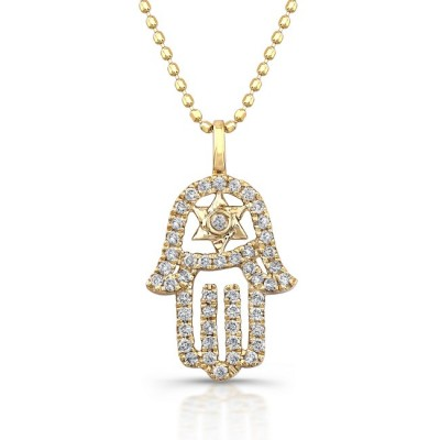 Star of david diamond necklace necklace wallpaper gallerychitrak 18k gold diamond interlock design star of david necklace gold and diamond star of david necklace with opal accent stone messianic star of david cross aloadofball Gallery