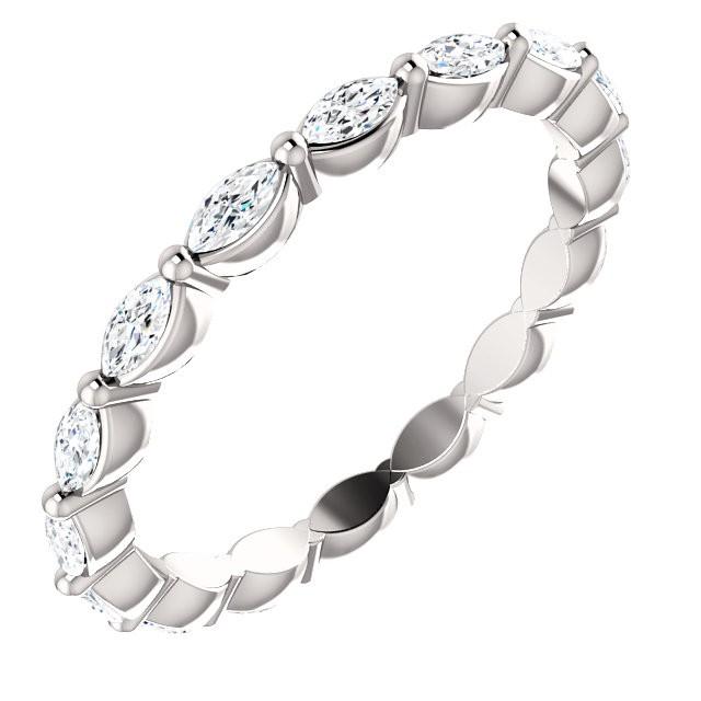Marquise Diamond Eternity ring