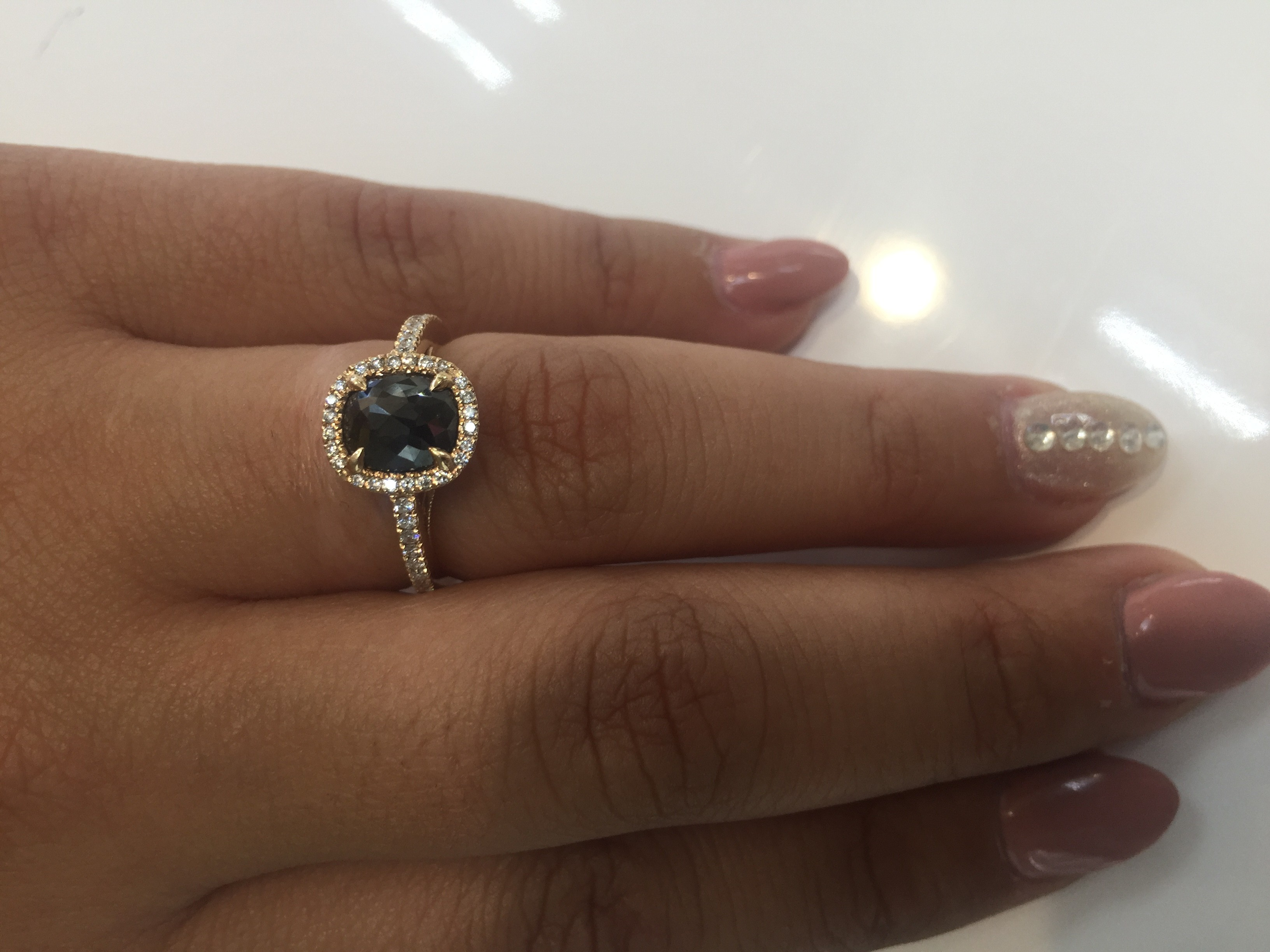 gold rings ip walmart white engagement diamond carat created com w ring wedding sapphire and miabella t g