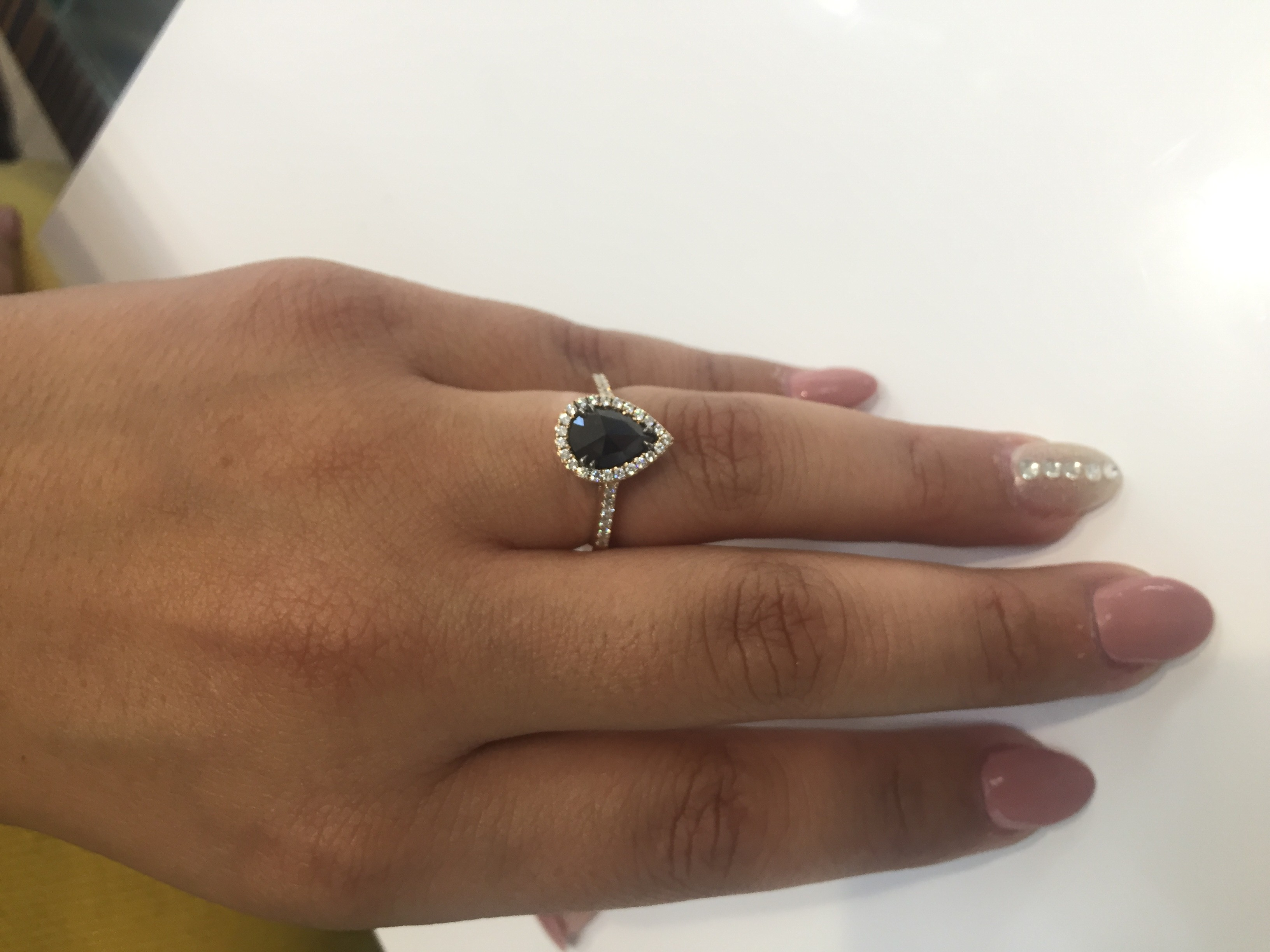 rings heaven diamond ring engagement jewellery buy online black