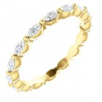 Marquise Diamond Eternity ring
