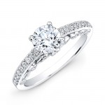 Vintage Design Diamond Bridal Ring 1CTW