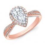 Natalie k criss cross shank ps halo engagement ring