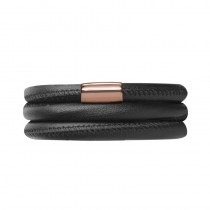 Black Leather 54cm/7.0inch