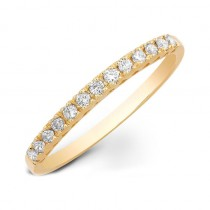 14k Yellow Gold Stackable Diamond Ring 18906