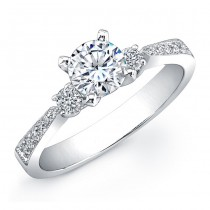 3/4 CTW Three Stone Diamond Ring