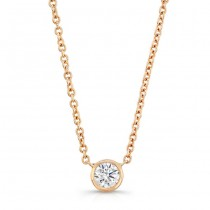 bezel necklace rg