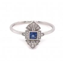 Sapphire Vintage Ring