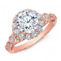 Natalie k halo Vintage engagement ring