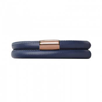 Blue Leather 36cm/7.0inch