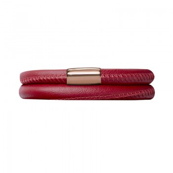 Red Leather 36cm/7.0inch