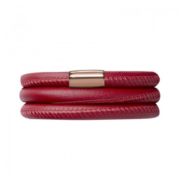 Red Leather 54cm/7.0inch