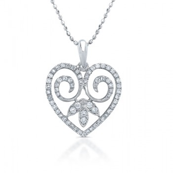 Diamond Vintage Heart