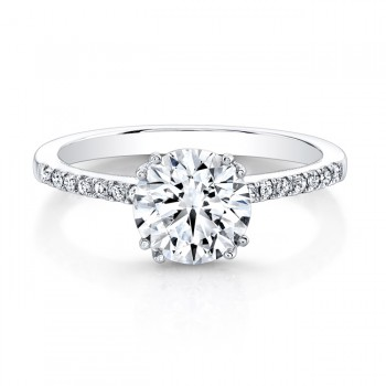 Timeless Diamond Engagement Ring 5/8CTW