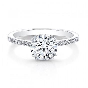 Diamond Classic Engagement Ring Setting