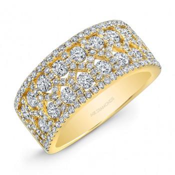 1 1/2TWT Yellow Gold  Diamond Ring