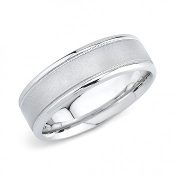 14kt Mens Wedding Band