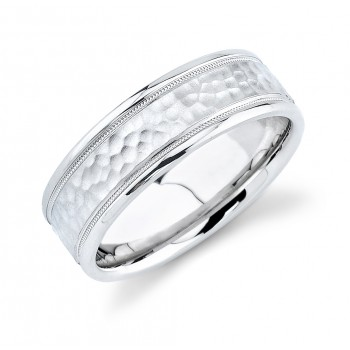 Mens Comfort Fit Wedding Band