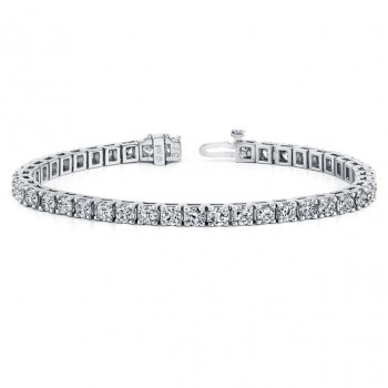 Diamond Eternity Bracelet in 14k White Gold (5 ct. tw.)