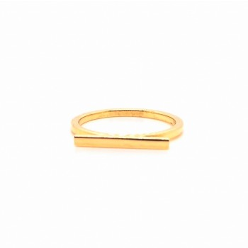 14k bar ring