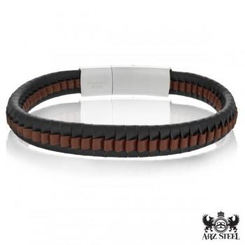 ARZ Steel Bracelet SSB110BR