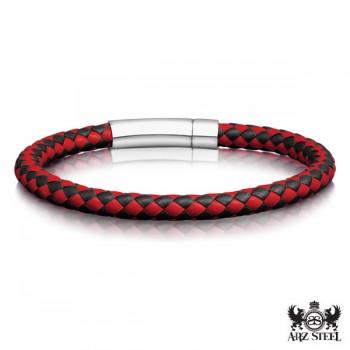 ARZ Steel Bracelet SSB184RD